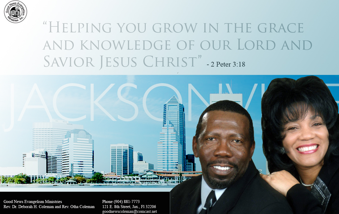 Good News Evangelism Ministries Jacksonville,Florida